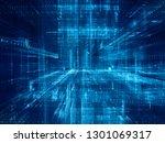 abstract background. digital... | Shutterstock . vector #1301069317