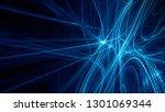 abstract digital art background.... | Shutterstock . vector #1301069344