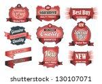 premium quality   guarantee... | Shutterstock .eps vector #130107071