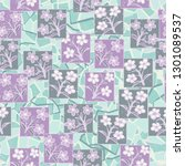seamless pattern made up of...   Shutterstock .eps vector #1301089537