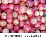 A Lot Of Pink Lady Apple At...