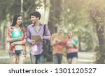 the successful group of... | Shutterstock . vector #1301120527