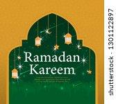 ramadan kareem islamic... | Shutterstock .eps vector #1301122897