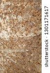 rusti iron texture with old... | Shutterstock . vector #1301171617