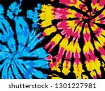 tie dye background | Shutterstock .eps vector #1301227981