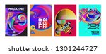 cover and poster design... | Shutterstock .eps vector #1301244727