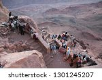 egypt  sinai peninsula ... | Shutterstock . vector #1301245207