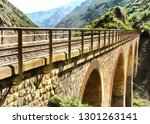 old railroad bridge  photo... | Shutterstock . vector #1301263141