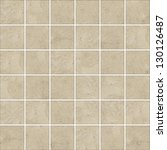 high quality brown mosaic... | Shutterstock . vector #130126487