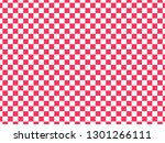 Pink And White Checkerboard...
