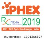 iphex 2019  rx india | Shutterstock .eps vector #1301266927