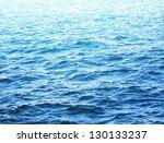 sea water surface in sunlight | Shutterstock . vector #130133237