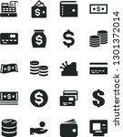 solid black vector icon set  ... | Shutterstock .eps vector #1301372014