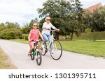 family  leisure and people... | Shutterstock . vector #1301395711