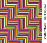 abstract colorful striped... | Shutterstock .eps vector #1301400361