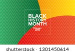 african american history or...   Shutterstock .eps vector #1301450614