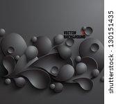 abstract 3d geometrical design | Shutterstock .eps vector #130151435