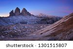 tre cime di lavaredo before... | Shutterstock . vector #1301515807