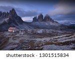 tre cime di lavaredo before... | Shutterstock . vector #1301515834