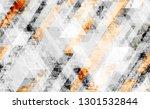 seamless urban geometric grunge ... | Shutterstock .eps vector #1301532844