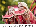 family time. mother and... | Shutterstock . vector #1301552221