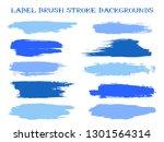 retro label brush stroke... | Shutterstock .eps vector #1301564314