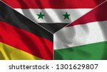 germany and syria and hungary... | Shutterstock . vector #1301629807