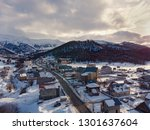 didveli bakuriani ski resort.... | Shutterstock . vector #1301637604