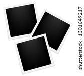 vector frames photo collage... | Shutterstock .eps vector #1301649217