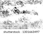 distressed background in black... | Shutterstock .eps vector #1301663497