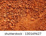 Tropical Laterite Soil Or Red...