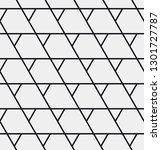 seamless geometric pattern.... | Shutterstock .eps vector #1301727787