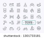 toys icons design set for store....