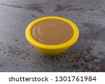 side view of creamy brown... | Shutterstock . vector #1301761984