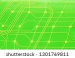 keyboard circuit membrane ...   Shutterstock . vector #1301769811
