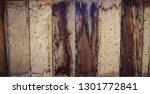 brown wooden texture flooring... | Shutterstock . vector #1301772841