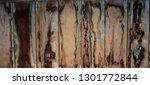 brown wooden texture flooring... | Shutterstock . vector #1301772844