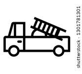 vehicle  plane  transportation  ... | Shutterstock .eps vector #1301781301