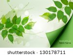 nature background with green... | Shutterstock .eps vector #130178711