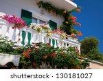 Decorated Balcony ...