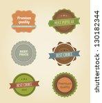 vector illustration. collection ...   Shutterstock .eps vector #130182344