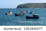 boats are on water | Shutterstock . vector #1301846377