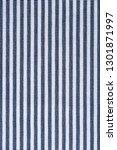 fabric blue striped texture.... | Shutterstock . vector #1301871997