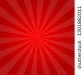 red background abstract vector... | Shutterstock .eps vector #1301882011