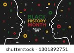 african american history or... | Shutterstock .eps vector #1301892751