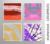 creative artistic backgrounds... | Shutterstock .eps vector #1301898151