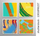 creative artistic backgrounds... | Shutterstock .eps vector #1301898157