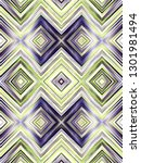 colorful vertical zigzag... | Shutterstock . vector #1301981494