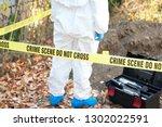 crime scene investigator   Shutterstock . vector #1302022591