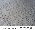 look down at thailand footpath... | Shutterstock . vector #1302036031